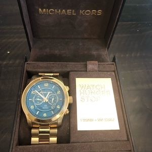 Michael Kors Limited Ed. Watch Hunger Stop Watch